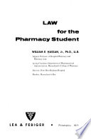 Law for the Pharmacy Student