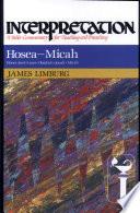 Hosea--Micah