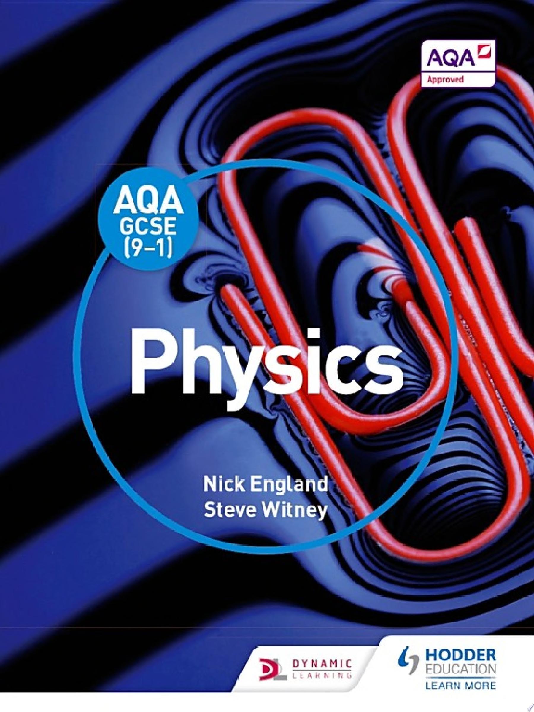 AQA GCSE  9 1  Physics Student Book