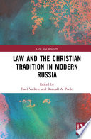 Law and the Christian Tradition in Modern Russia