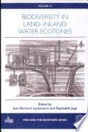Biodiversity in Land inland Water Ecotones Book