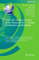 VLSI SoC  System on Chip in the Nanoscale Era     Design  Verification and Reliability