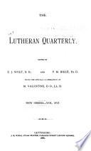 The Lutheran Quarterly