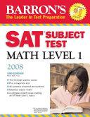 Barron's SAT Subject Test Math Level 1 - Seite 3