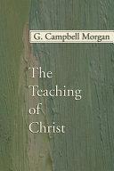 The Teaching of Christ Pdf