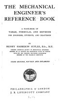The Mechanical Engineer's Reference Book