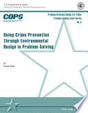 Using Crime Prevention Through Environmental Design in Problem Solving