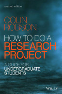 How to Do a Research Project