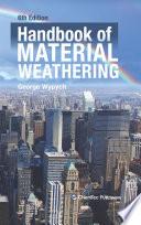 Handbook of Material Weathering Book