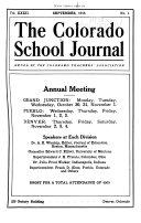 Colorado School Journal