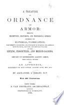A Treatise on Ordnance and Armor