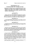 Texas Legislative Manual