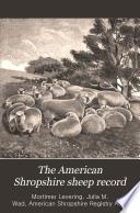 The American Shropshire Sheep Record Book PDF
