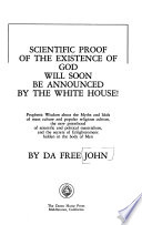 Scientific Proof of the Existence of God Will Soon be Announced by the White House!