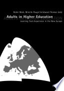 Adults in Higher Education