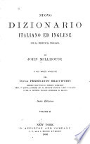 New English and Italian Pronouncing and Explanatory Dictionary Book PDF