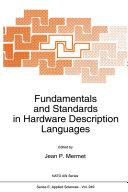 Fundamentals and Standards in Hardware Description Languages Pdf/ePub eBook