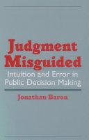 Judgment Misguided Pdf/ePub eBook