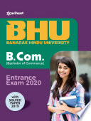 BHU Banaras Hindu University B.Com Entrance Exam 2020