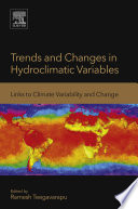 Trends and Changes in Hydroclimatic Variables Book