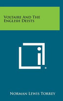Voltaire and the English Deists