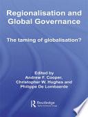 Regionalisation and Global Governance