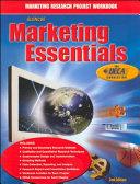 Marketing Essentials Marketing Research Workbook