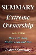 Summary   Extreme Ownership Book