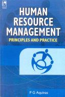 Human Resource Management - Principles and Practice Pdf/ePub eBook