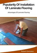 Popularity of Installation of Laminate Flooring