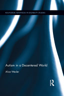 Autism in a Decentered World Pdf