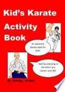 Kid s Karate Activity Book Book