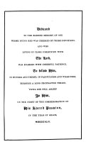 Devotions for the Sick Room, and for Times of Trouble: compiled from ancient liturgies, and the writings of holy men. [The advertisement signed: R. B., i.e. Robert Brett.]