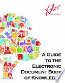 A Guide To The Electronic Document Body Of Knowledge Book PDF