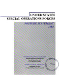 United States Special Operations Forces Posture Statement