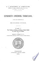 Bulletin (United States. Bureau of Animal Industry). no. 52 pt. 1, 1904