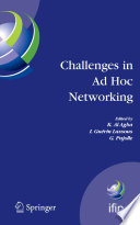 Challenges in Ad Hoc Networking Book