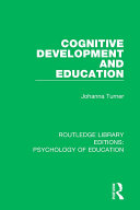 Cognitive Development and Education