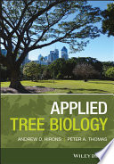 """Applied Tree Biology"" by Andrew Hirons, Peter A. Thomas"