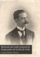Memoria del Asilo General de Enajenados de la Isla de Cuba