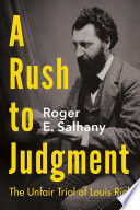 A Rush to Judgment