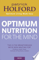 Optimum Nutrition For The Mind Book PDF