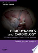 Hemodynamics And Cardiology Neonatology Questions And Controversies Book PDF