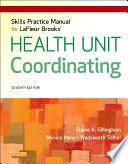 Skills Practice Manual for LaFleur Brooks  Health Unit Coordinating   E Book