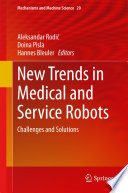 New Trends In Medical And Service Robots Book PDF