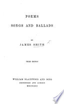 Poems  Songs and Ballads  Third edition