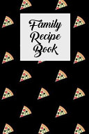 Family Recipe Book  Blank Cookbook with Recipe Cards for Family Recipes