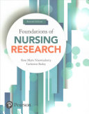 Cover of Foundations of Nursing Research