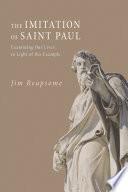 The Imitation Of Saint Paul