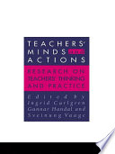 Teachers  Minds And Actions Book